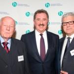 Alois Lünendonk, Josef Sanktjohanser, Waldemar Gluch | Jahresempfang der Handelsverbände 2014 | © HV NRW