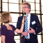 Gisela Steinhauer, Michael Radau | Jahresempfang der Handelsverbände 2014 | © HV NRW