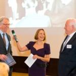 Franz-Rudolf Sanktjohanser, Gisela Steinhauer, Friedrich G. Conzen | Jahresempfang der Handelsverbände 2014 | © HV NRW