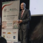 WDR-Reporter Kay Bandermann moderierte den 5. NRW-Nahversorgungstag sach- und fachkundig